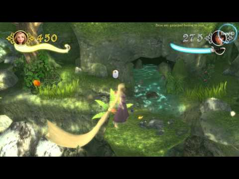 Tangled The Video Game HD gameplay