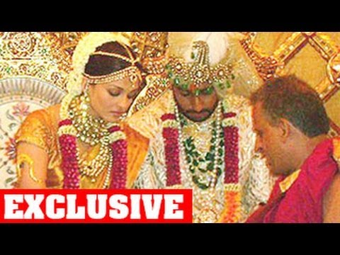 Aishwarya Rai & Abhishek Bachchan's Unseen Wedding Photos: Anniversary Special video