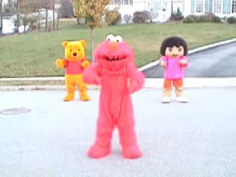 Elmo Dora && Pooh CRANK DAT