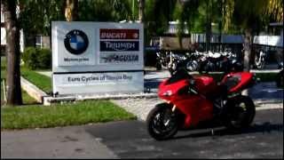 2009 Ducati 1198s red
