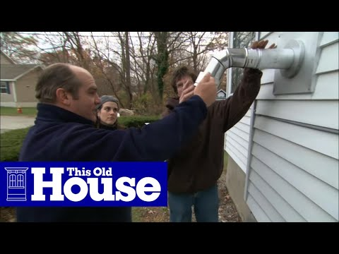 How to Install a Pellet Stove - This Old House