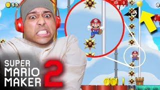I LOST MY %#&@!* MIND WITH THIS ONE!! [SUPER MARIO MAKER 2] [#30]
