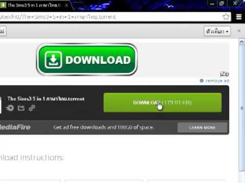 สอนโหลด The Sims3 ภาษาไทย