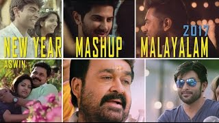 NEW YEAR MALAYALAM  MASHUP 2017 - ASWIN RAM
