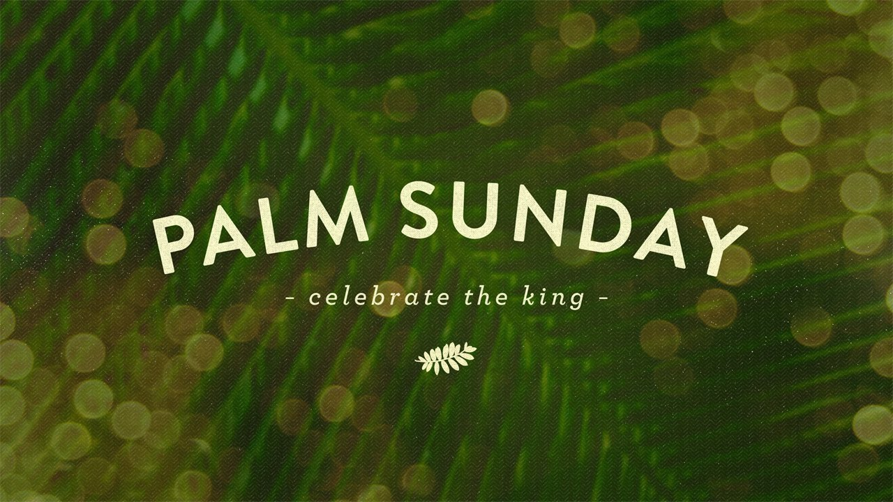 Palm Sunday 2015 Palm Sunday 2015