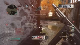 my first nuke on COD ww2(old gamplay)