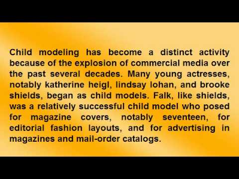 Child models Video