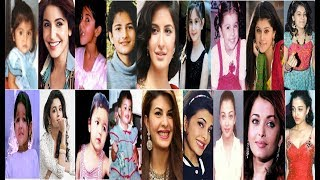 Top 20 Heroines Names List With Child Hood|All Bollywood Actress Childhood Photos