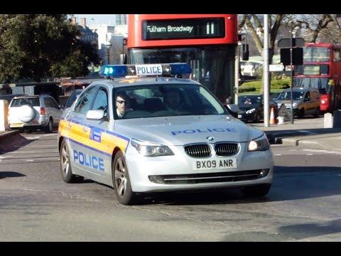 London Metropolitan Police Area Car Responding - Hyperyelp Siren