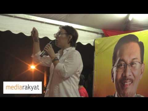 Elizabeth Wong: Kita Bangkit Kerana Terlalu Lama Rakyat Dah Tertindas Oleh UMNO Barisan Nasional