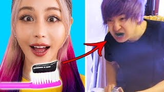 Pranking My Boyfriend Using Terrible Troom Troom Pranks *He Got MAD*