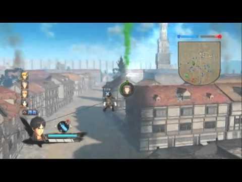 【PS3版】進撃の巨人~第1章 第2話「初陣」 エレン・イェーガーでプレイ