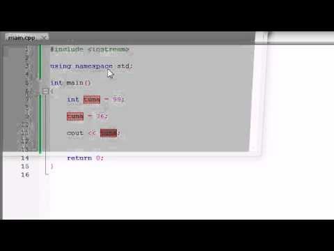 Buckys C++ Programming Tutorials   6   Variables Memory Concepts