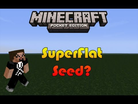 Flattest Seed Ever??? - Minecraft Pocket Edition
