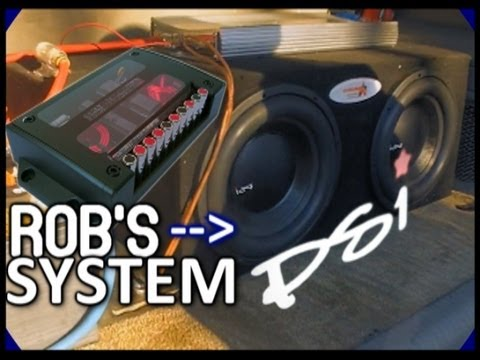 PSI Recones & Passive Crossovers   Subwoofer FLEX & Installing Rob's Component Car Audio Speakers