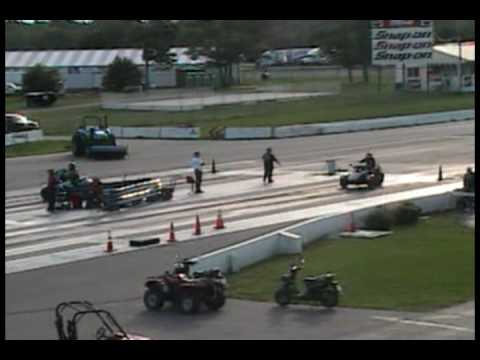 can am spyder quarter mile drags