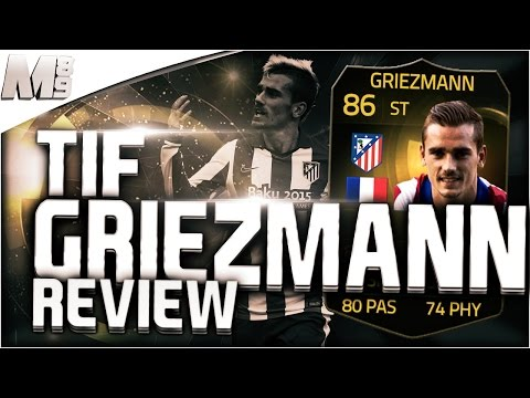 FIFA 15 UT - TIF GRIEZMANN    FIFA 15 Ultimate Team 86 Inform Player Review + In Game Stats