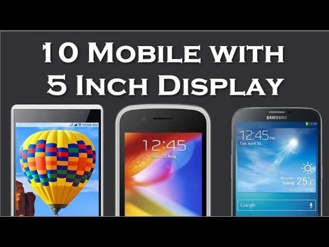 10 Mobile with 5 Inch Display in Price Range 5000 to 10000 Price Specification 17-05-2014