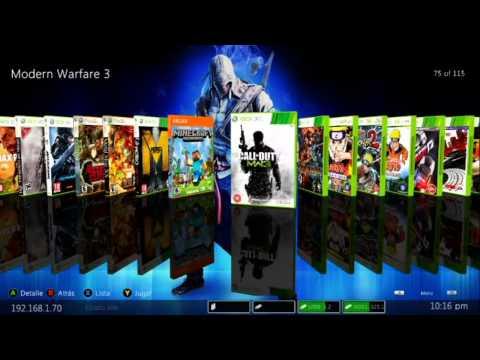 Dash tipo Maquinero GRATIS para Renta de Xbox 360 RGH part. 2