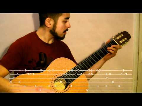 Somebody That I Used To Know by Gotye (Fingerstyle Guitar Lesson with TAB - No Capo) Music Videos