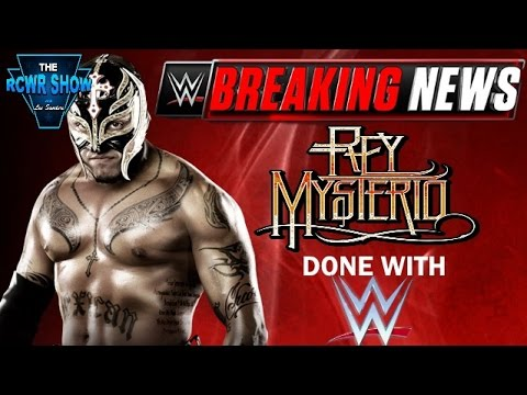 Breaking News: Rey Mysterio Done with WWE Officially! WWE Issues Statement! The RCWR Show