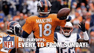 Every Touchdown from the Playoffs! | NFL