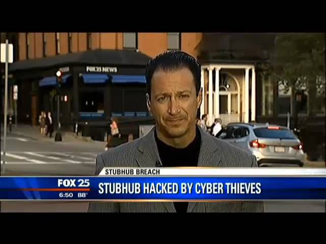 Stubhub accounts hacked @McAfeeConsumer