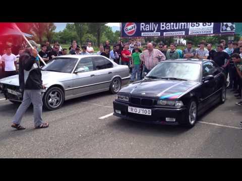 drag race in batumi BMV vs