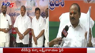 టీడీపీపై కన్నా ఫైర్..! | Kanna Laxminarayana Face To Face Over No Confidence Motion