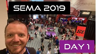 Sema Show 2019 Day 1. Cars And Car Reveals