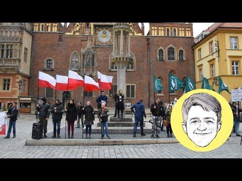 Manifestacja Przeciwko Ukraińcom We Wrocławiu #88
