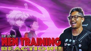 Gon & Killua learn Nen! First Time Watching Hunter x Hunter Episode 27 28 29 30 31 Reaction