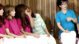 YoonSic SNSD Moment 120510 @ Happy together