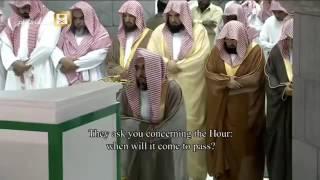Makkah Taraweeh 2016 Night 8 last 10 rakats صلاة التراويح 2016 الليلة 8