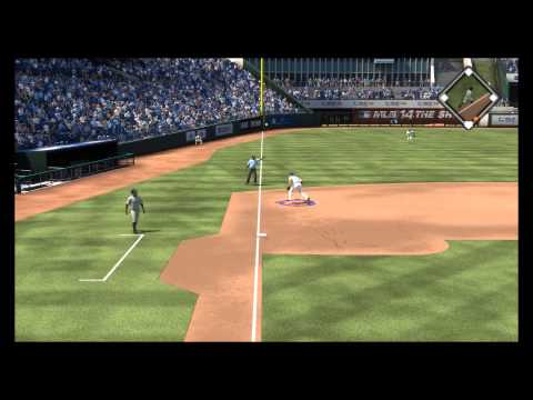 MLB 14 The Show -  Houstan Astros vs Kansas City Royals: Jose Altuve & Chris Carter Struck Out PS4