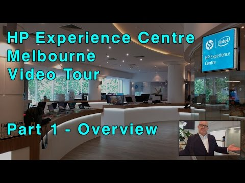 HP Experience Centre Melbourne Tour -Part 1