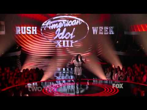 Jena Irene 05 - American Idol S13E11 Painted Black