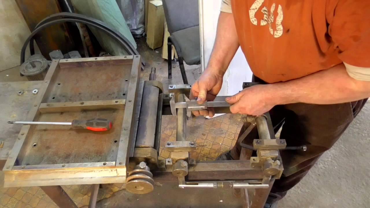 Как сделать своими руками фуговочный станок 61