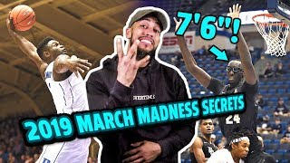 "2019 March Madness Preview!! Zion Williamson, 7'6"" Tacko Fall, Ja Morant & More 😱"