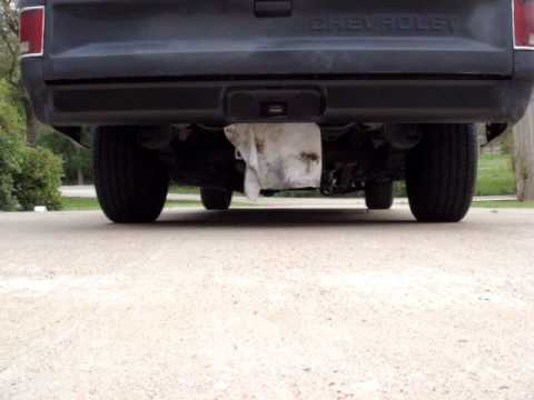 1986 Chevy Truck Flowmaster Exhaust Video