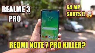 Realme 3 Pro Full Specs Review and Impressions !! REDMI NOTE 7 Pro Killer phone? MalayaliTech