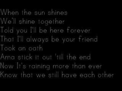 Rihanna Ft Jay-Z Umbrella With Lyrics