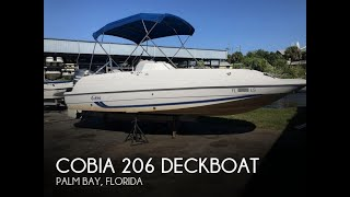 [UNAVAILABLE] Used 2001 Cobia 206 Deckboat in Palm Bay, Florida