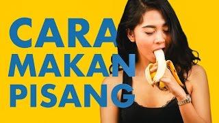 Cara Makan Pisang Yang Benar