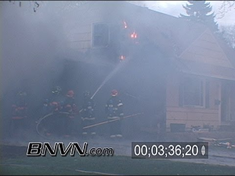 4/24/2006 Two Alarm House Fire Video