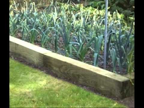 Front Flower Bed Edging