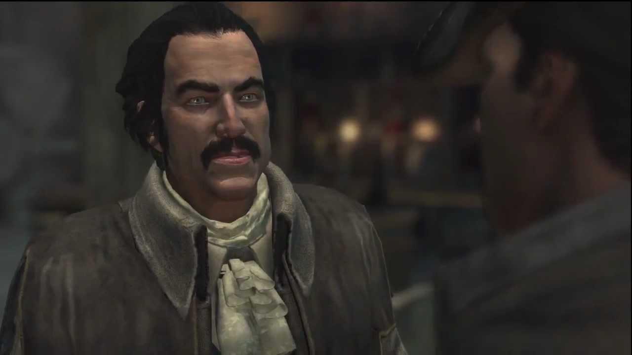Assassin's Creed 3 - Haytham Plot Twist (Spoilers!) - YouTube