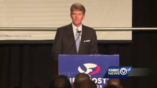 Koster gives concession speech in Missouri governor's race