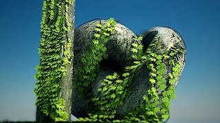 3ds max realistic vine without plugins .