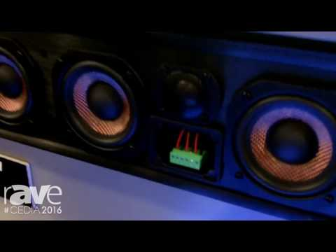 CEDIA 2016: TruAudio Exhibits Custom Length Soundbars Built to the Extact Width of the TV